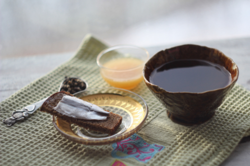 Black Tea with Pepper and Anchovies